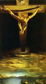Dalí The Christ of St. John of the Cross