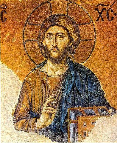 File:00058 christ pantocrator mosaic hagia sophia 656x800.jpg