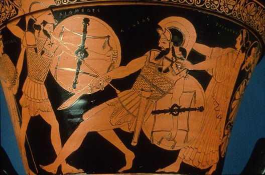 File:Diomedes attacking Aeneas.jpg