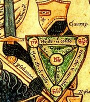 Trinity knight shield