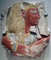RamessesII-ColoredRelief BrooklynMuseum