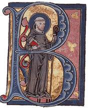 Bernhard von Clairvaux (Initiale-B)