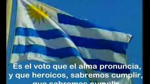 Uruguay's Anthem with lyrics