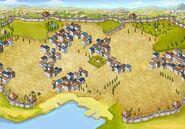 Background dry-moist city level-3