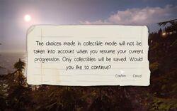 Collectible Mode