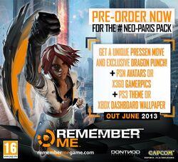 Remember Me - Neo-Paris Pack