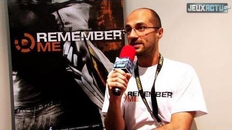 Remember Me Jean-Maxime Moris Interview (Gamescom 2012)