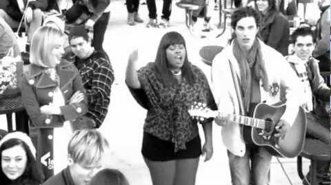 Glee Mash-Up (Stereo Hearts vs Empire State Of Mind)