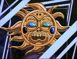 Mayan Sun Amulet