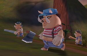 Carpenter Pig