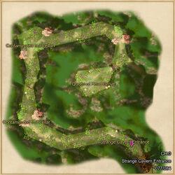 Strange cavern map