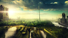 Destroyed city by fantasyart0102-d9s2qrf