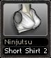 Ninjutsu Short Shirt 2