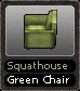 Squathouse Green Chair