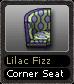 Lilac Fizz Corner Seat