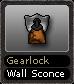 Gearlock Wall Sconce