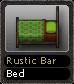Rustic Bar Bed