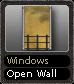 Windows Open Wall