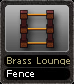 Brass Lounge Fence