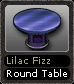 Lilac Fizz Round Table