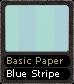 Basic Paper Blue Stripe