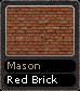 Mason Red Brick