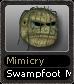 Mimicry Swampfoot Mask
