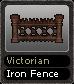 Victorian Iron Fence