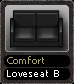 Comfort Loveseat B