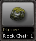 Nature Rock Chair 1