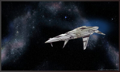 Renegade Legion TOG Vulcan-class Cruiser by Sings-With-Spirits small