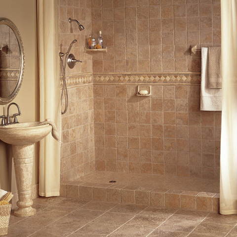 When It Comes To Bathroom Walls Countertops And Floors Tiling Is Always A Common Choice With Its Endless Array Of Styles Colors And Possibilities