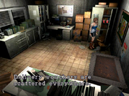 Resident Evil 3 Nemesis screenshot - Uptown - Warehouse office examine 03