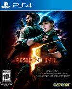 Resident Evil 5 PlayStation 4 Box Artwork - Front