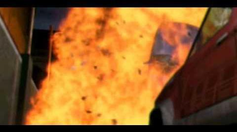 S.G.G.S. Explosion (FMV cutscene)