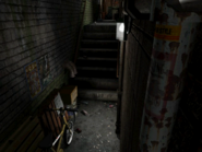 Resident Evil 3 background - Uptown - warehouse back alley d2 - R11D03