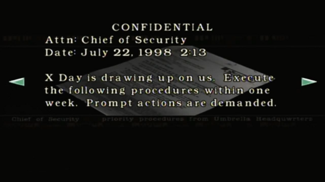 File:Resident Evil files - Mail from the Chief of Security page 2.png