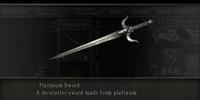 Platinum Sword