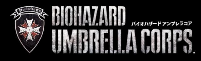 File:BIOHAZARD UMBRELLA CORPS game logo.png