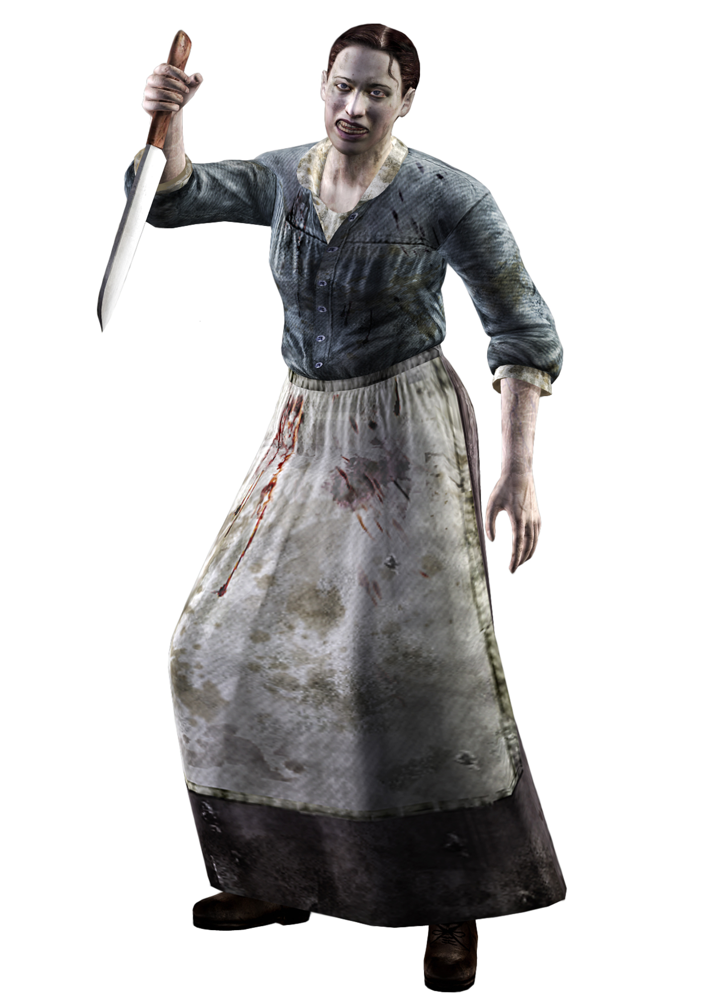 Female Villager (Kitchen Knife)