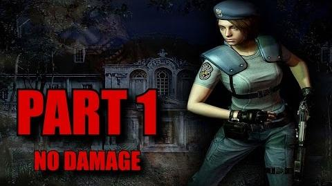 Resident Evil Remastered Walkthrough Part 1 - Jill Valentine No Damage (PS4 PC)