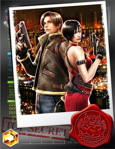 File:RE4 Leon Ada Team Survive.jpg