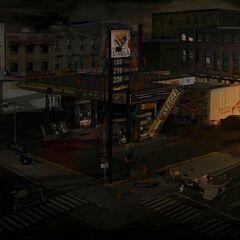 СТАГЛА в Operation Raccoon City. Вид сверху