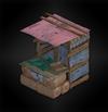 Stall (lanshiang) diorama