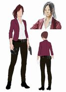 Resident Evil Revelations 2 - Claire Redfield concept art