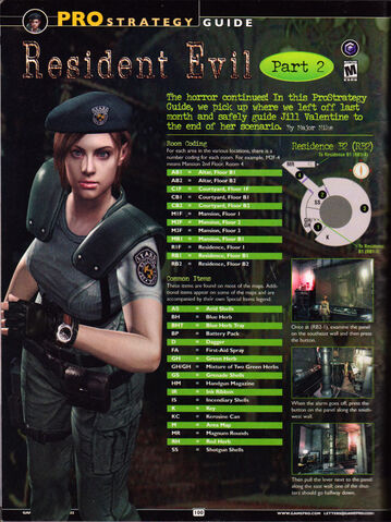 File:Resident Evil remake - GamePro - Issue 167 August 2002 - Jill guide Part 2 Page 100.jpg