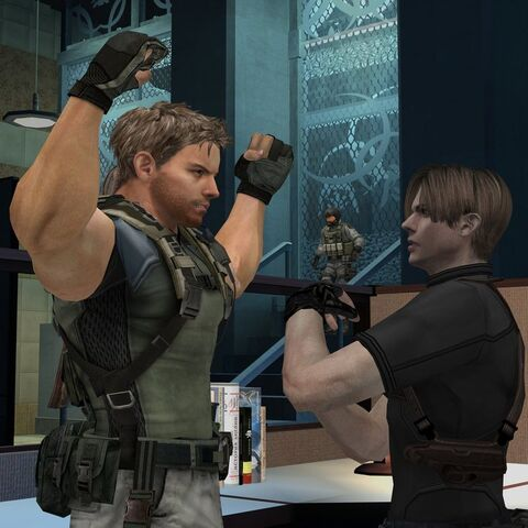 File:Leon and chris rivals by eddietwk-d3ca1xu.jpg