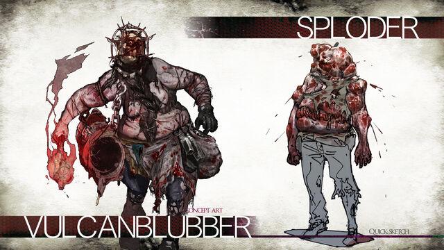 File:Resident Evil Revelations 2 - Sploder and Vulcanblubber concept art.jpg