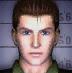 Resident Evil CODE Veronica Battle Game - Chris Redfield mugshot 1