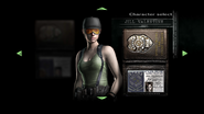 Jill Army Character Select